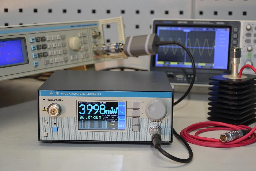 Измеритель мощности ВЧ СВЧ сигналов М3