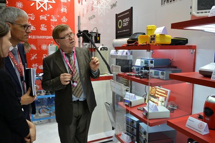 Контрольно-Измерительные Приборы на международной выставке INNOPROM 2018, г. Екатеринбург